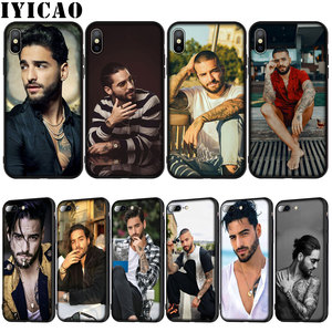 IYICAO Maluma Soft Silicone Cover Case for iPhone XR X XS 11 Pro Max 10 6 6S 7 8 Plus 5 5S SE Phone Case(China)