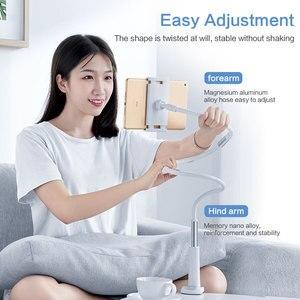 Image 2 - SmartDevil 유니버설 홀더 for iPad 접이식 홀더 for iPhone 12 Pro Max 침대 침대 옆 게으른 브래킷 360 클립