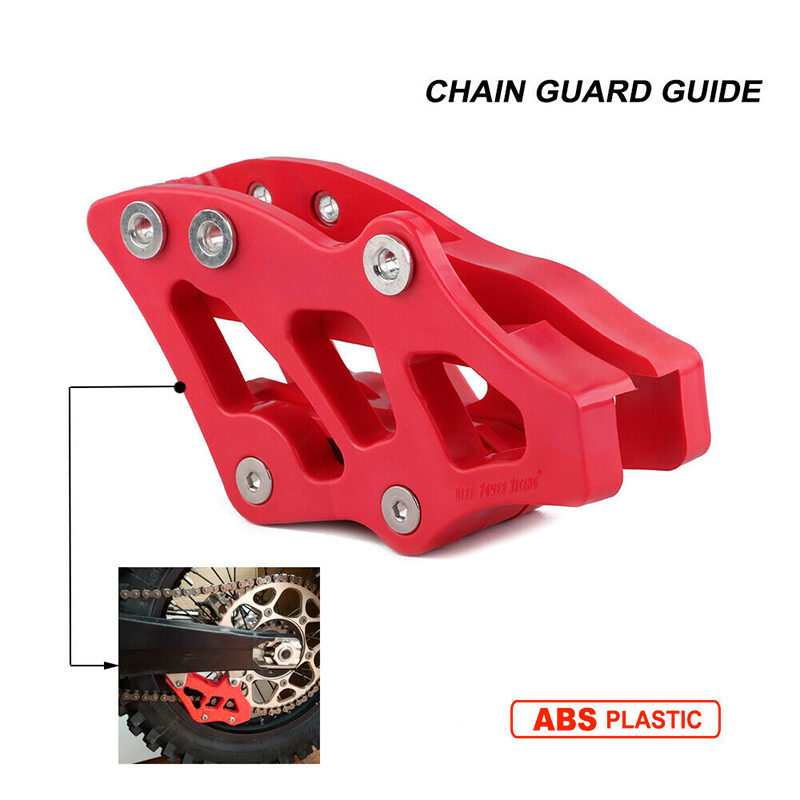 Motorcycle Plastic Chain Guide Guard Sprocket Protector Slider for HONDA CR125R CR250R CRF450X CRF250R CRF450R CRF250X enlarge