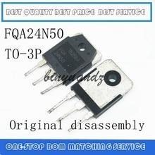 10 قطعة 100 قطعة FQA24N50F FQA24N50 24N50 24A 500V TO 3P الأصلي التفكيك