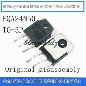 Image 1 - 10 PCS 100 PCS FQA24N50F FQA24N50 24N50 24A 500V TO 3P מקורי פירוק