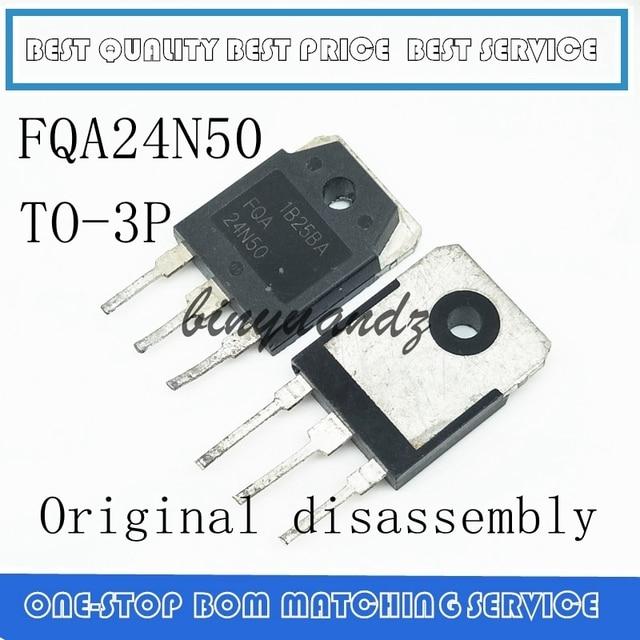 10 PCS 100 PCS FQA24N50F FQA24N50 24N50 24A 500V TO 3P מקורי פירוק