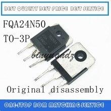 10PCS 100PCS FQA24N50F FQA24N50 24N50 24A 500V TO 3P Original disassembly
