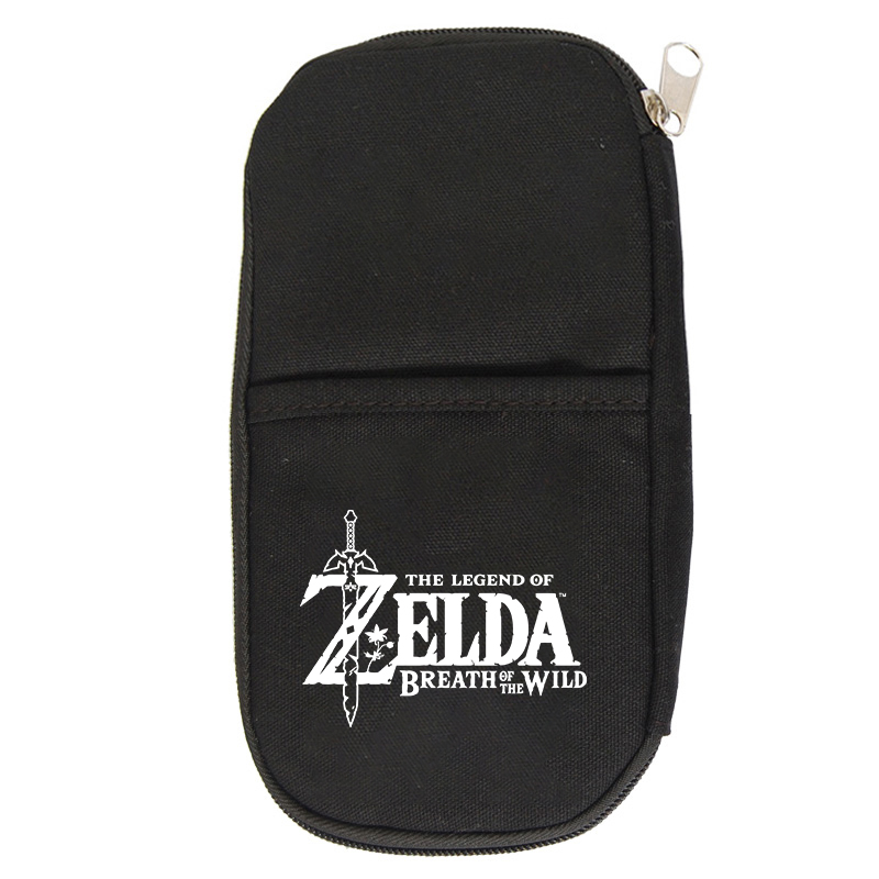 New Pencil Case The Legend Of Zelda Bags Zipper Pencil Bags Pen Holders Large Storage Bag School Supplies Stationery Pencil Box