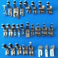 25Pcs Steel Sewing Machine Foot Feet Presser Snap Set Kit For Replacement Useful