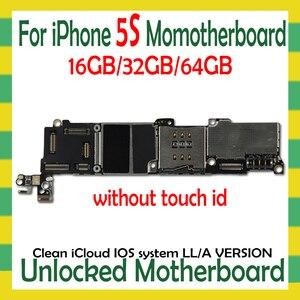 Image 3 - OS 시스템 포함 iphone 4S 5 5C 5S SE 6 6Plus 6S 6sPlus 7 7Plus 8 8Plus 마더 보드 없음 터치 ID 없음 원래 잠금 해제 플레이트