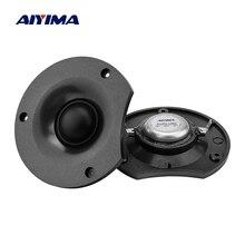 AIYIMA 2 шт. твитер 12 Ом 50 Вт шелковая пленка аудио динамик Неодимовый магнитный громкоговоритель DIY 4,5-6,5 дюймов динамик домашний звуковой кинотеатр