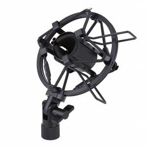 Image 2 - Metall Shockmonut Studio Aufnahme Mikrofon Shock Mount Spinne Mic Halter Clip