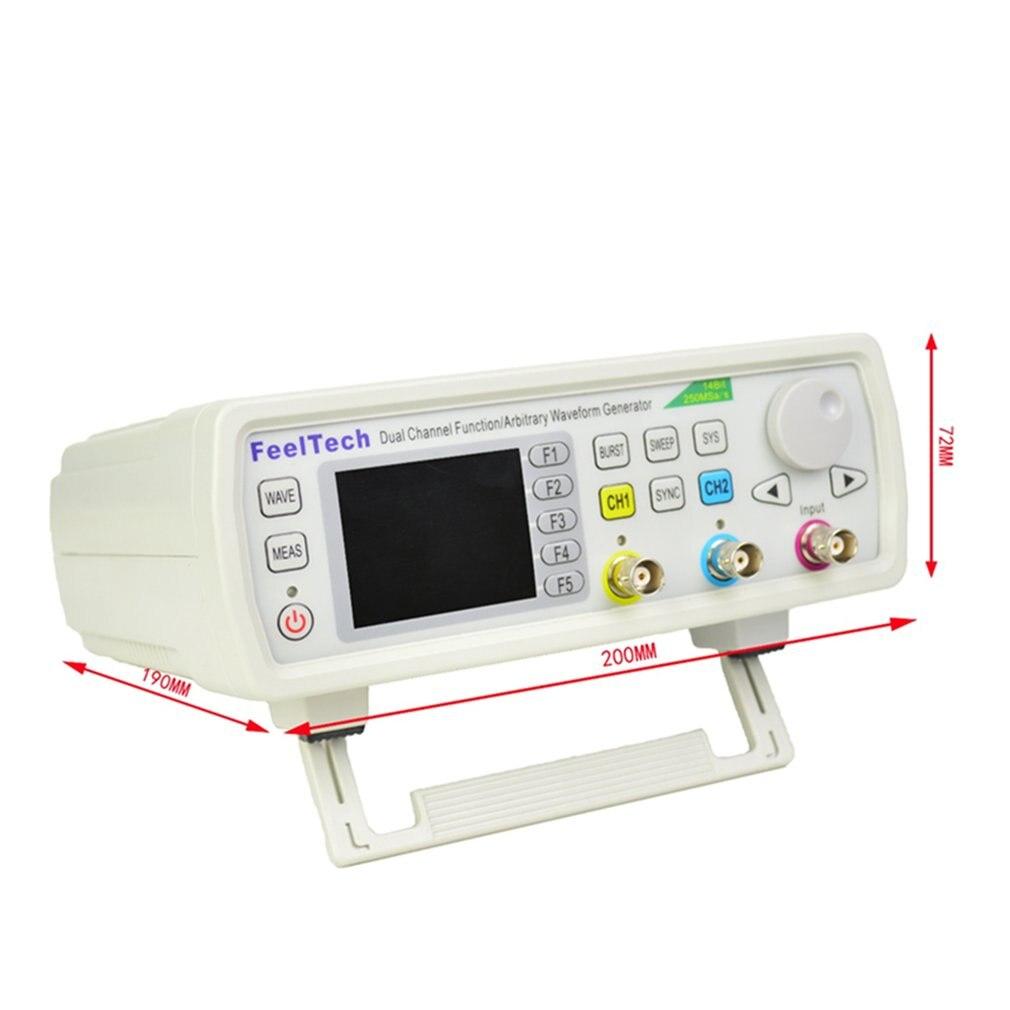 FellTech FY6600-30M 30MHZ contrôle numérique double canal DDS fonction générateur de Signal compteur de fréquence arbitraire US