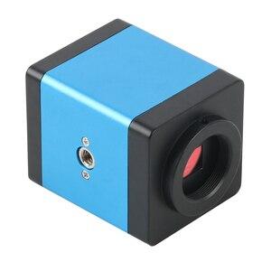 Image 5 - แนวตั้งซูม3.5X 90X Simul Focalกล้องจุลทรรศน์สเตอริโอTrinocular + HDMI VGA 14MPกล้องจุลทรรศน์กล้องสำหรับPCBบัดกรี