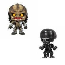 Predator & alien 30 # coleção pvc action figure brinquedos para crianças presente de aniversário