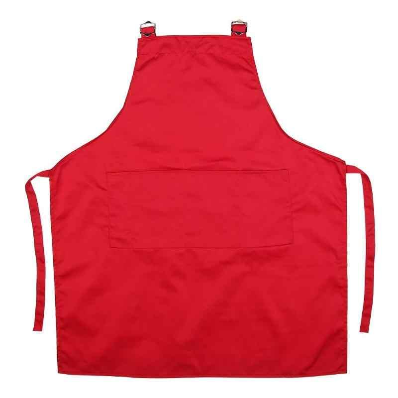 ผ้ากันเปื้อนผ้าใบภาพวาดครัว Chef ทำอาหารเบเกอรี่ร้านอาหาร Aprons w/กระเป๋าสวยกระเป๋าขนาดใหญ่,สวยและปฏิบัติ