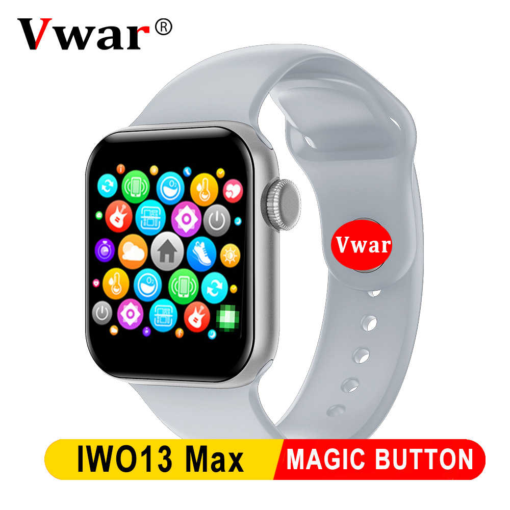 Iwo 13 Seri MAX 5 Smartwatch IP68 Monitor Tekanan Darah Tahan Air 40Mm IWO13 Smart Watch untuk Apple IOS Android PK Iwo 12 10