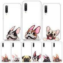 Animal mignon Carlin Chien Bande Dessinée Bouledogue Étui de Téléphone Pour Xiaomi Redmi 9C 9 8 7 6 9A 8A 7A 6A Note 9 9S 8 8T 7 6 5 5A Pro S2 K20 K30 Ca