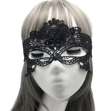 цена на 20pcs/lot Party Half Face Fox Butterfly Peacock Lace Unshaped Eye Mask