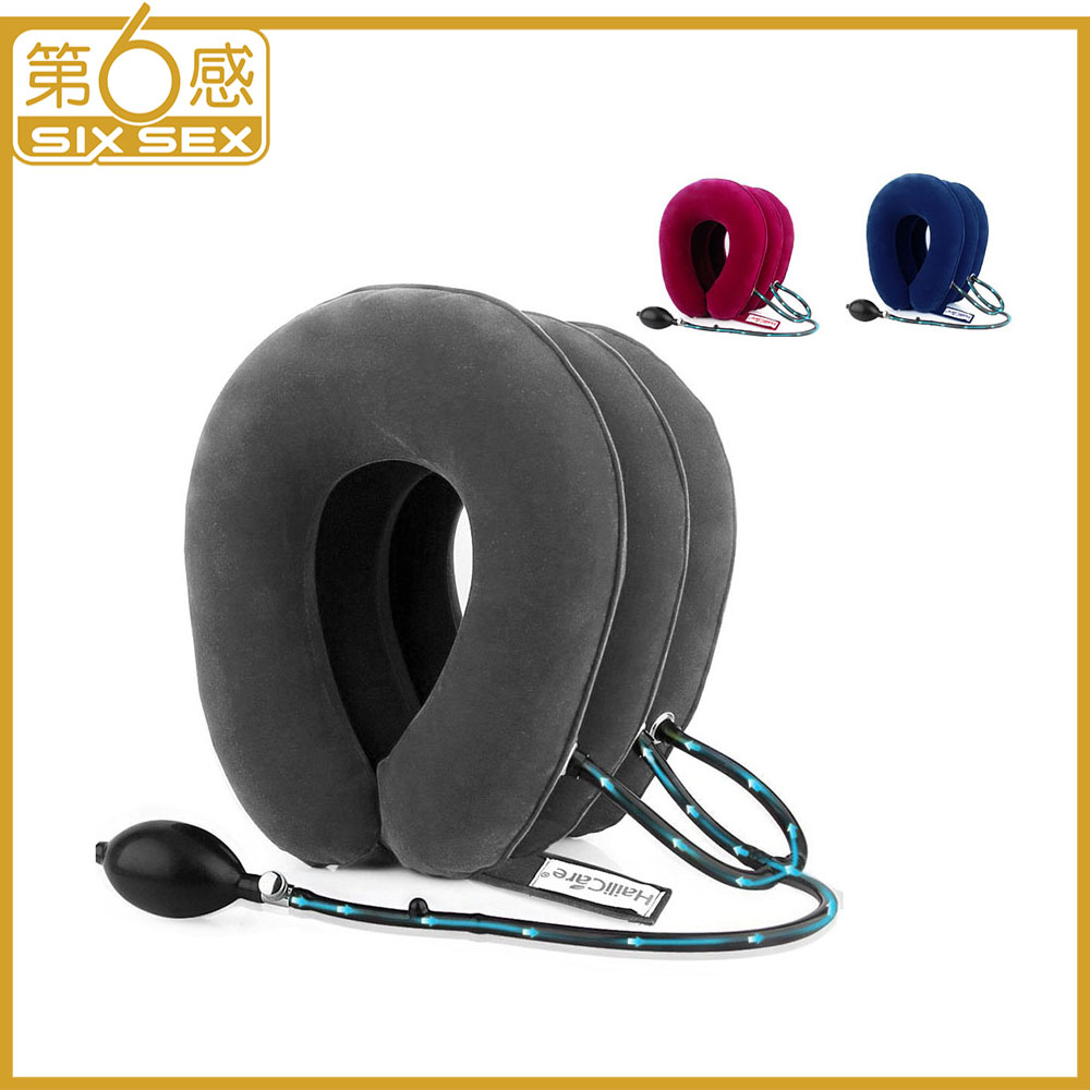 Neck Tractor Inflatable Air Cervical Traction Device Support Collar Vertebra Orthopedics Massage Relaxation Brace