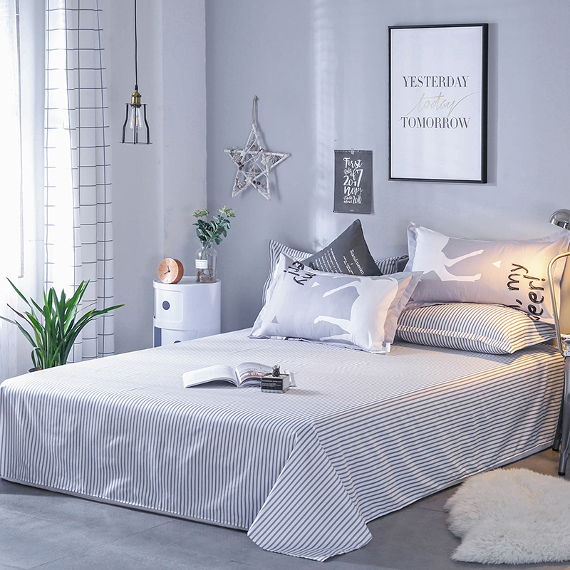 Deer Pattern Light Gray Sheets