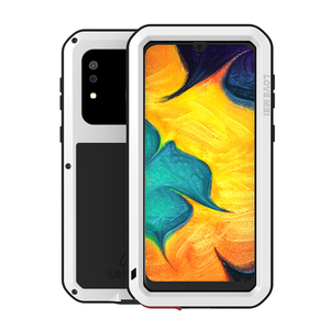 Image 4 - Love Mei Metal Case For Samsung Galaxy A30 A20 Armor Shockproof Phone Cover For Samsung A30 A20 Rugged Full Body Anti Fall Case