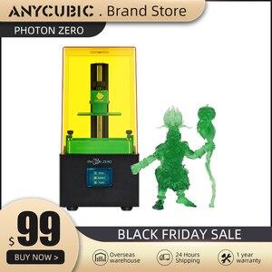 Anycubic 3D Printer Photon Series Photon-Zero 3d Printer SLA/LCD Printer Quick Slice 405 UV Resin 3d Drucker Impressora