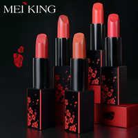 MEIKING matte lipstick waterproof Velvet Lip Stick 19 Colors Sexy Red Brown Moisturizing Women Fashion Make up Gift Lip care