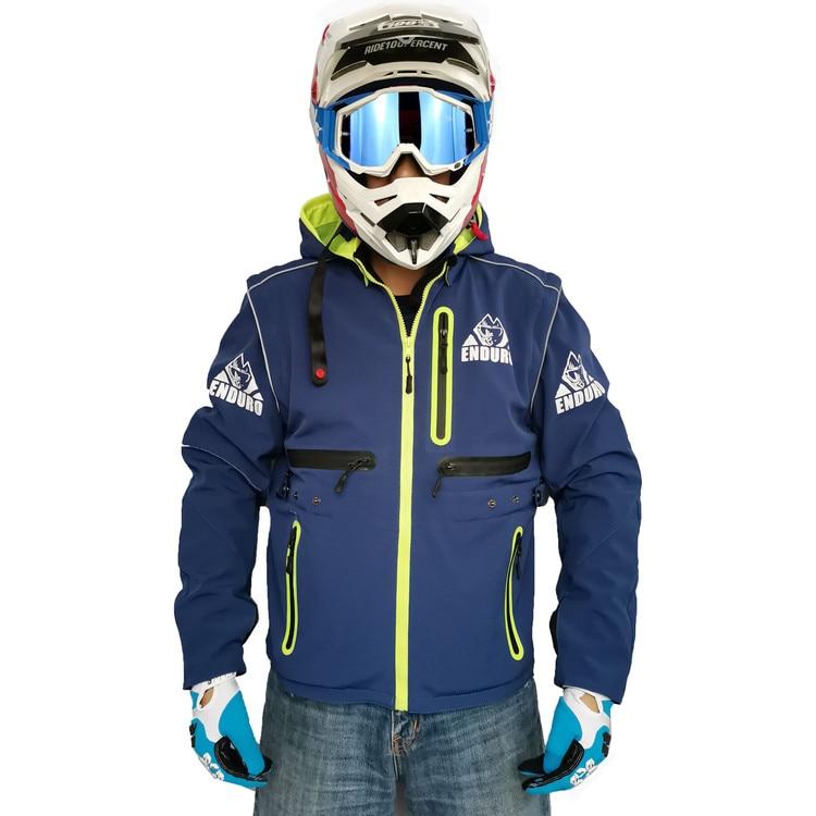 Бесплатная доставка, новое поступление, куртка для мотокросса, бездорожья, куртка для эндуро 2 в 1, куртка со съемным рукавом, толстовка