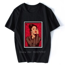 La Reina-Camiseta Selena Quintanilla de manga corta para hombre, Camiseta de algodón, camisetas de Hip Hop, ropa de calle