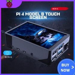 3.5 pollici Raspberry Pi 4 Modello B di Tocco Dello Schermo 480*320 LCD Display + Touch Pen + A Duplice Uso ABS Scatola di Caso di Borsette per Raspberry Pi 4