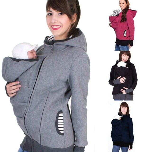 Maternidad Madre Canguro ropa para padres niño invierno
