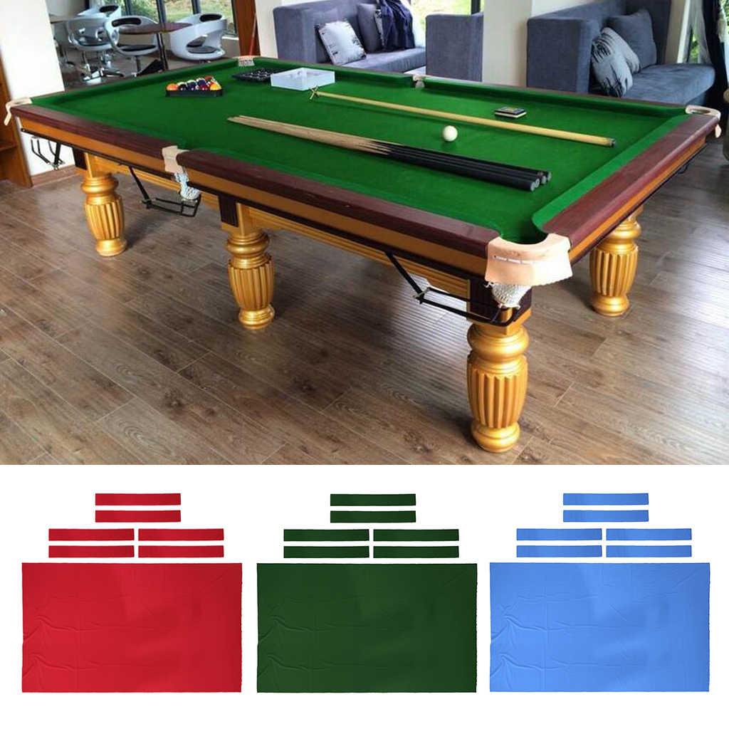 Pool Table Felt Billiard Cloth for 10 Feet Table Choose English Green Red Blue