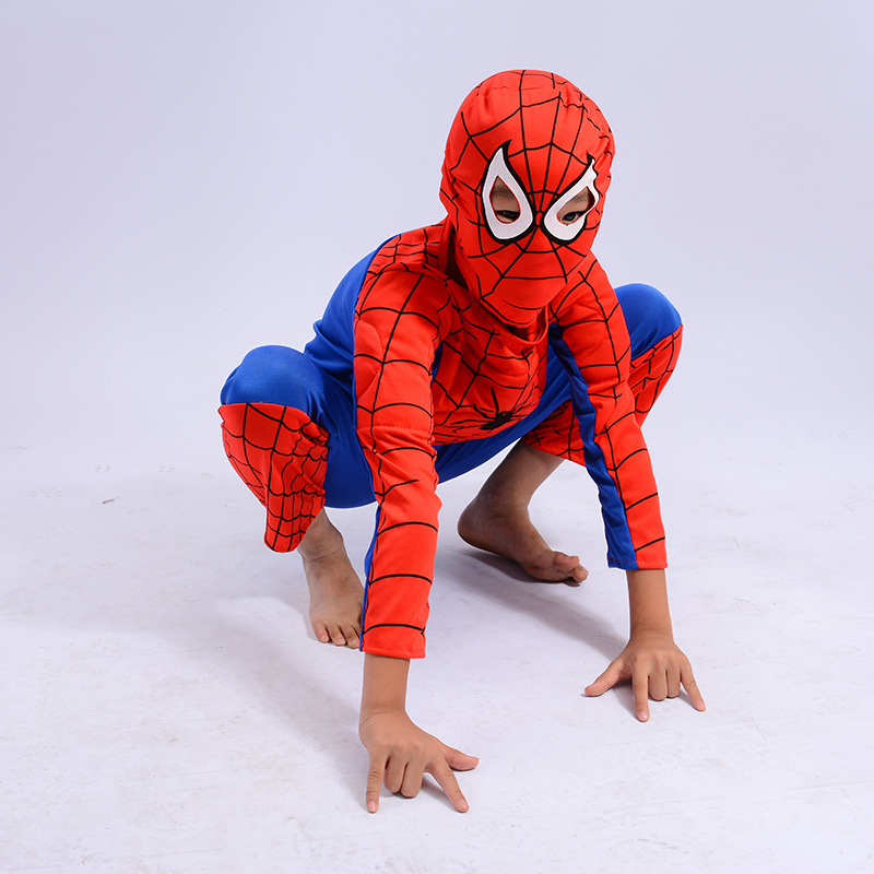 Spiderman Costume Girl Boy Child The Spider Man Mask Costume Suit Kids Boys Spandex Black Red Halloween Star Wars Cosplay Anime