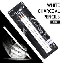 COROT-ensemble de crayons à dessin Standard à charbon de bois, 3 pièces, pour peintre, peinture fournitures artistiques