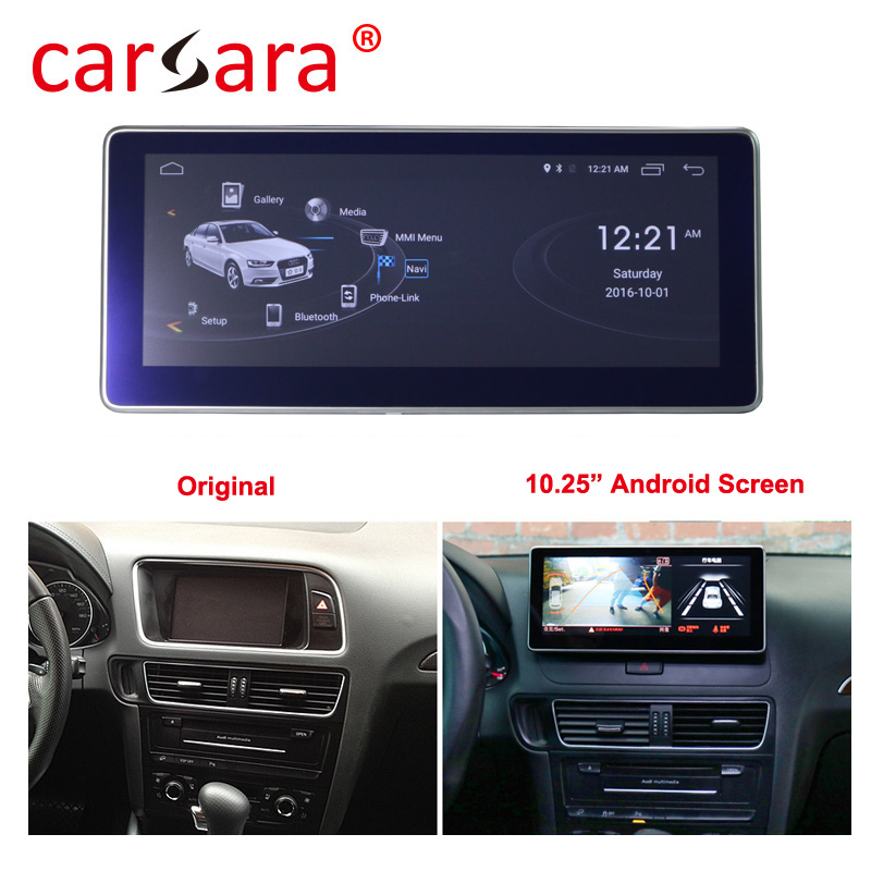 4+64G Android Unit Stereo Display System for Q5 SQ5 2009-2016 with <font><b>Audi</b></font> concert/symphony radio GPS Navigation image