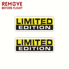 1 Pair LIMITED EDITION Car Sticker Funny PVC Decal Funny Personality Vinyl Decal Cars Styling Creative Auto Products