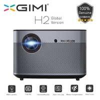 XGIMI H2 proyector DLP 1080P Full HD 1350 lúmenes Ansi 4K proyector 3D apoyo Android Wifi Bluetooth casa teatro versión Global