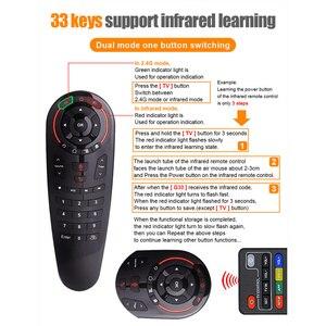 Image 3 - I8star ratón giroscopio G30S Air mouse, control remoto por voz de Google, 33 teclas, IR, aprendizaje, inalámbrico, Aero inteligente, para ordenador portátil de decodificador IPTV