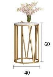 Nowy kreatywny stolik kawowy nowoczesny salon okrągły stolik stolik salon stoły meble Dia40xH60cm
