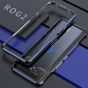 Image 5 - For ASUS ROG 2 ROG2 Case Metal Frame Double Color Aluminum Bumper Protect Cover for ASUS ROG Phone II Case