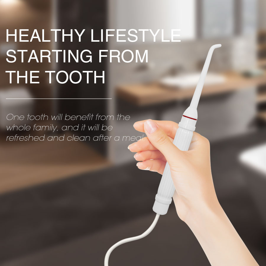 h2ofloss Portable Faucet Oral Irrigator Flosser Irrigador Dental Water Jet Toothbrush Oral Irrigation Teeth Cleaning