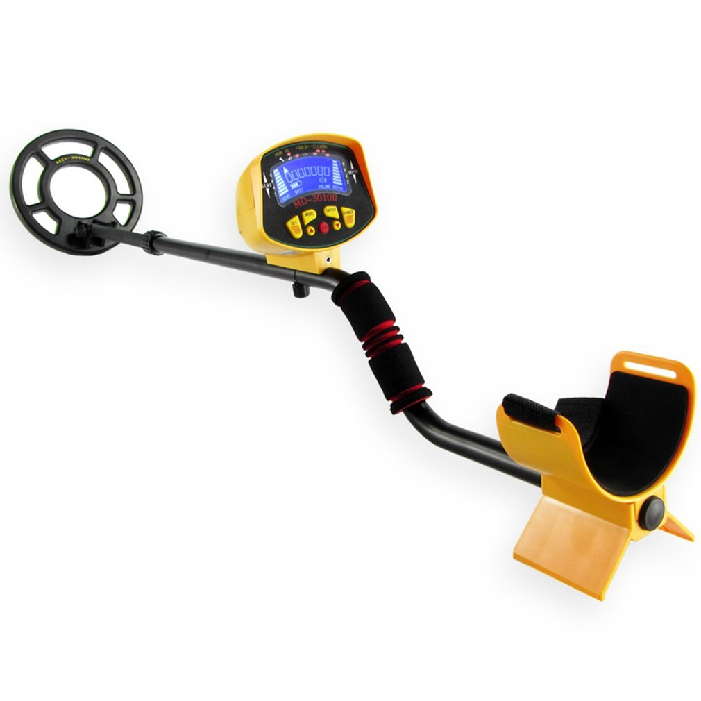 <font><b>MD3010</b></font> Ground Searching Metal Detector Portable Nugget Finder 1-1.5M Gold Silver Detector Treasure Hunting Tool MD-3010 image