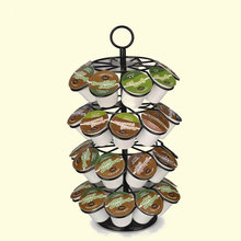 Practical Rotary Coffee Capsules Holder Rack Pod  For Nespresso / Dolce Gusto K-Cup
