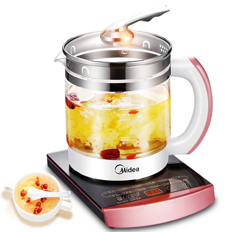 Kettle Health Pot Automatic Thickened Glass Multi-function Electric Kettle Boiling Flower Tea Pot Boiling Pot Tea 1