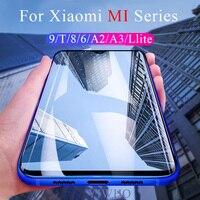 Schutz Glas auf Für Xiao mi mi 9 T 8 5X 6X A1 A2 Lite A3 9t Gehärtetem Bildschirm schutz Film auf Xao mi mi 9 8 Lite Sicherheit Glas