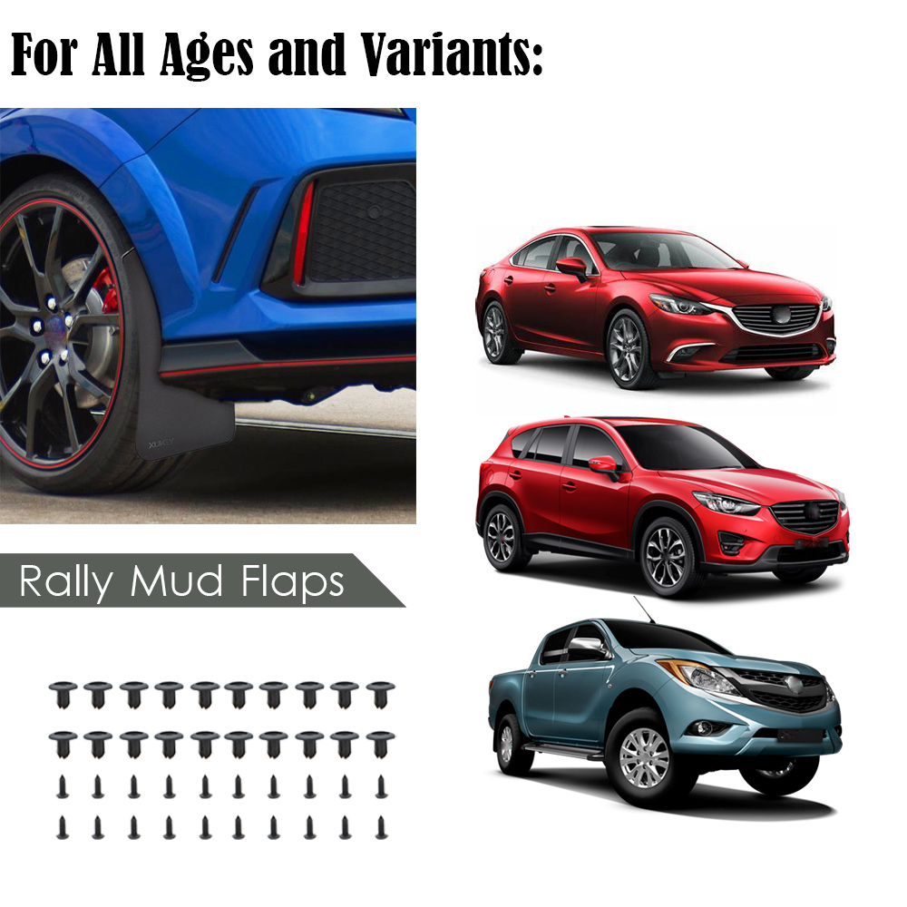 2PCS CAR SEAT GAP STOPPER LEAK PROOF STOP MUD PAD FOR Mazda CX-9 CX-8 MX-5 BT-50