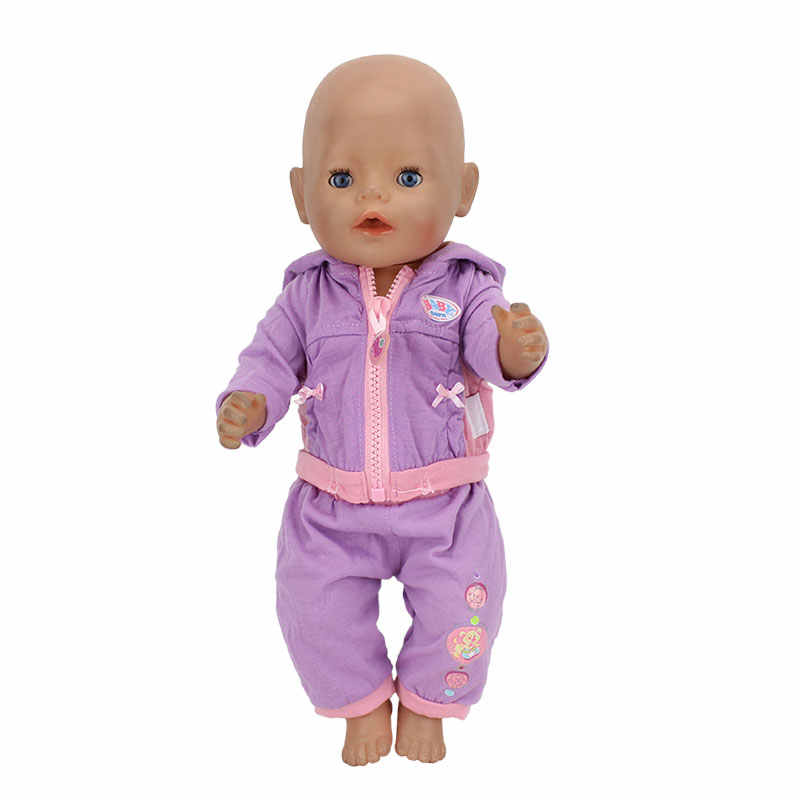 Dress Suit For 17 Inch Baby Doll 43cm Clothes, Doll accessories