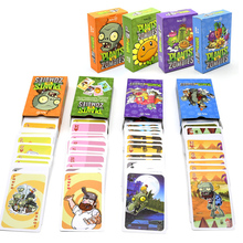 55pcs Plants Vs Zombie Characters Poker Cards PVZ Game Card Game Board Creative Gift Animals & Nature Grownups toys