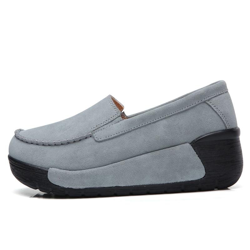 Image 3 - BEYARNEBrand Spring Autumn Loafers Women Flats Fashion Flat Platform Shoes Female Loafers Slip On Womens Ladies ShoesE961Womens Flats   -