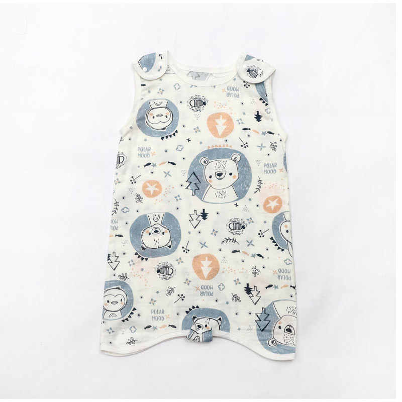 Mùa Hè Muslin Túi Ngủ Muslin Bé Túi Ngủ Trẻ Em Toddle Beddingbaby Saco De Dormir Para Bebe Bao Sleepsacks