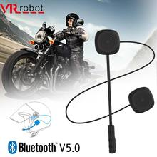 Vr Robot Bluetooth 5.0 Moto Helm Headset Draadloze Handsfree Stereo Oortelefoon Motorhelm Hoofdtelefoon MP3 Speaker(China)