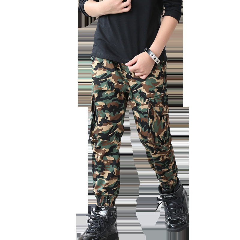 2019 New Boys Pants Children 39 s Leggings Army Kids Clothes Casual Trousers for Boys Clothing Sport Fashion Camouflage Clothes in Pants from Mother amp Kids