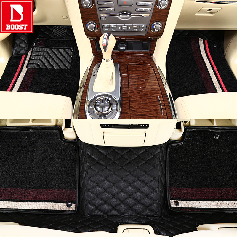 Boost <font><b>Car</b></font> Floor <font><b>Mats</b></font> For <font><b>Lexus</b></font> <font><b>Rx350</b></font> Lx570 Waterproof Add Silk Coil Automobile Auto Foot Pads image
